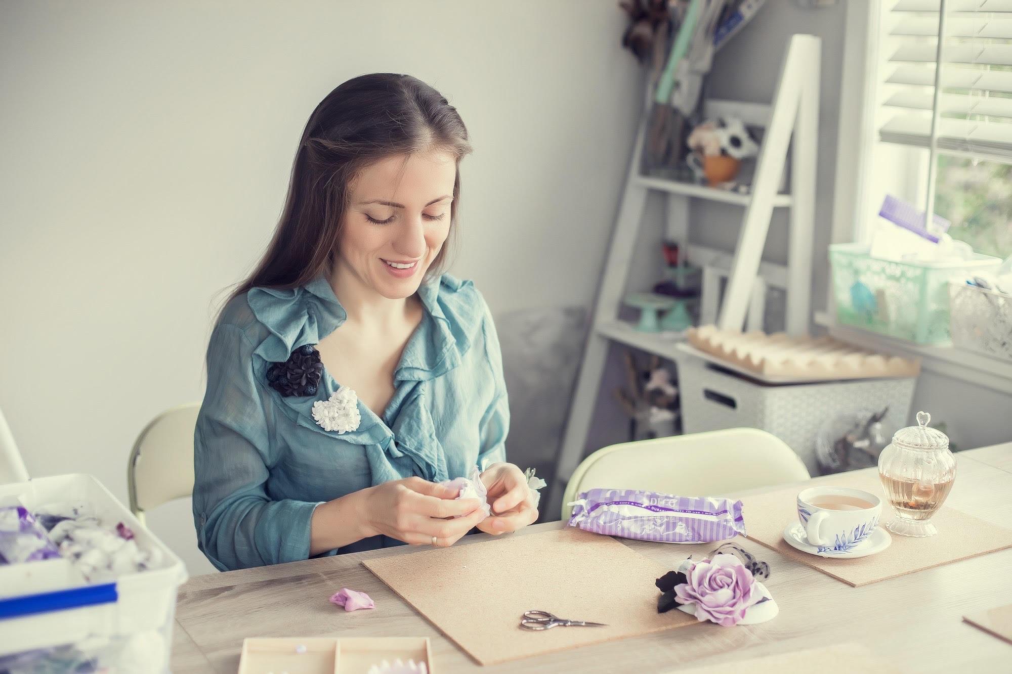 Anna Piskun Polymer Clay artist