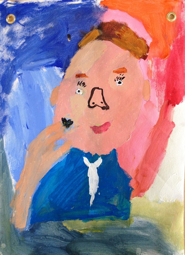 Art Making for Children Portraits