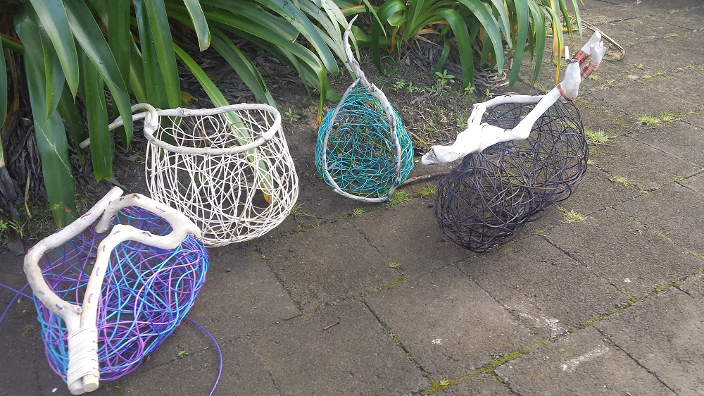 Weaving Beautiful Baskets June 2017 Students work