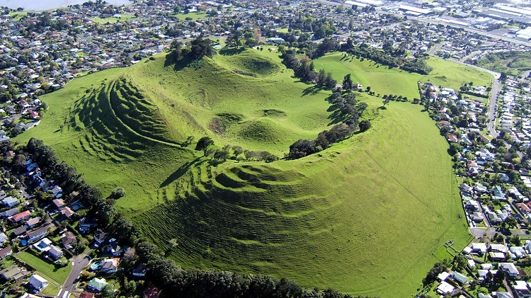 volcanic area of auckland