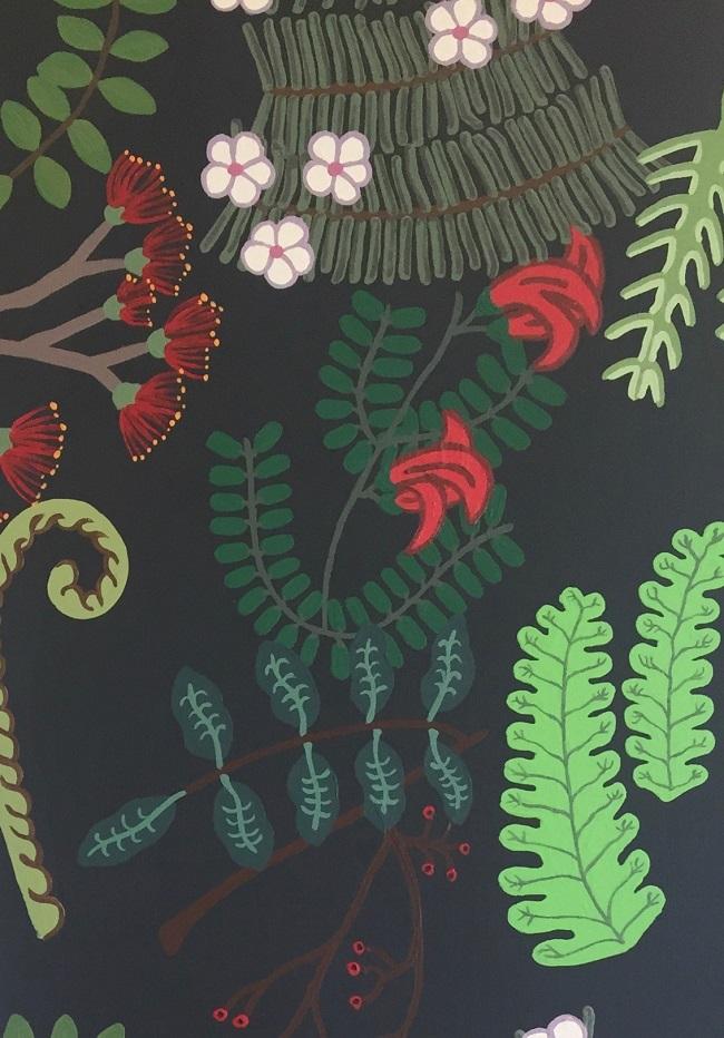 Ayesha Green, Alma Venus (detail), 2018. Art Making For Children Fantastical Botanical
