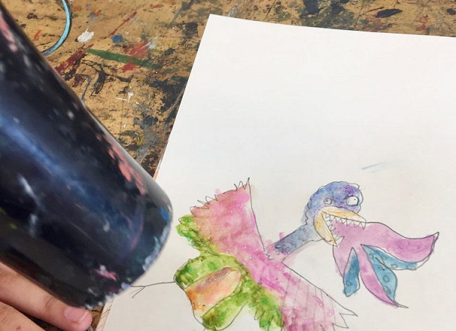 Selwyn Community Education: Watercolour stories with Charlotte Maguire