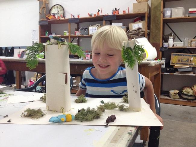 Art Making for Children 3D Worlds
