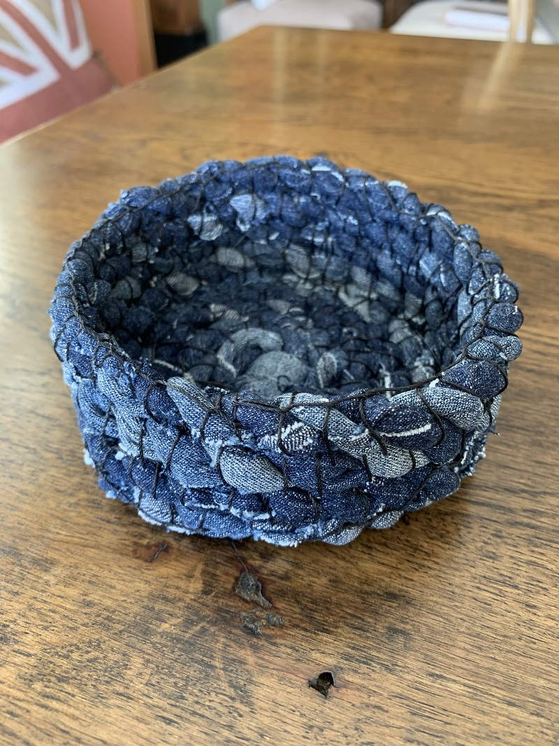 Denim Upcycling by Maureen Conquer