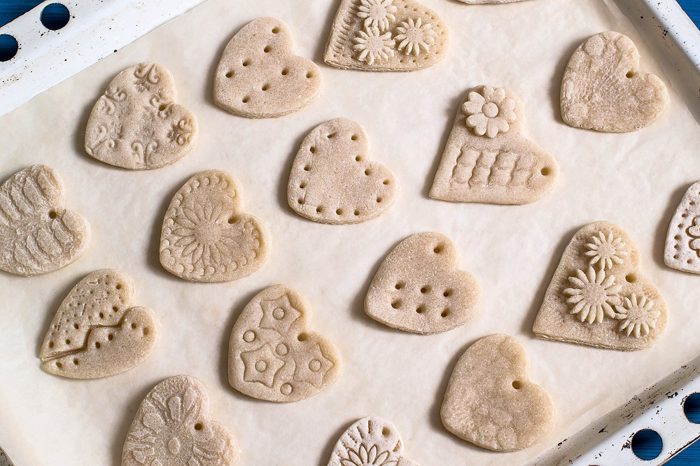 Dough Flowers and Decorations