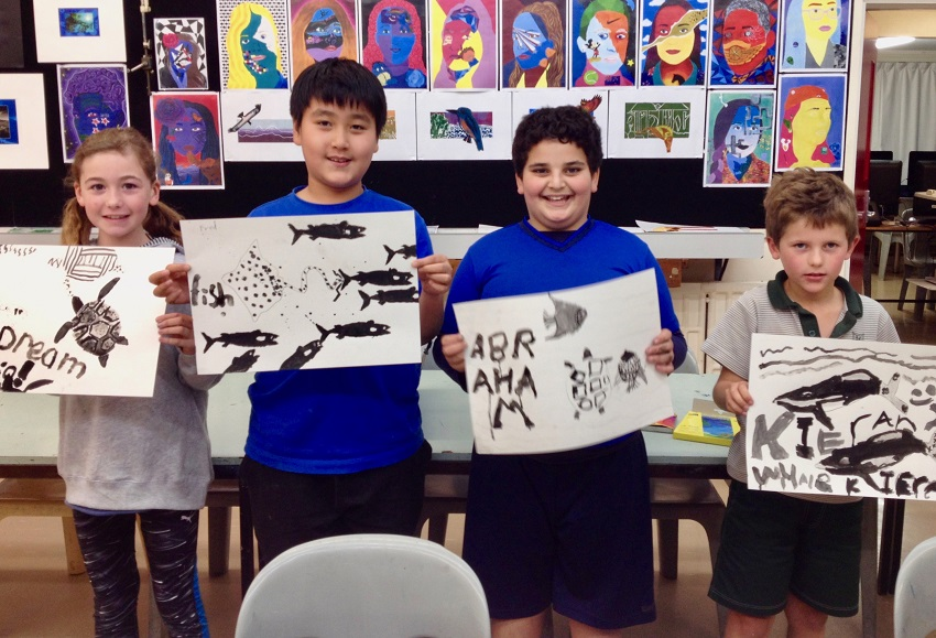 Children's Art Course Drawing Up A Storm