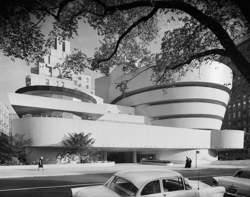 Frank Lloyd Wright Guggenheim Museum NY