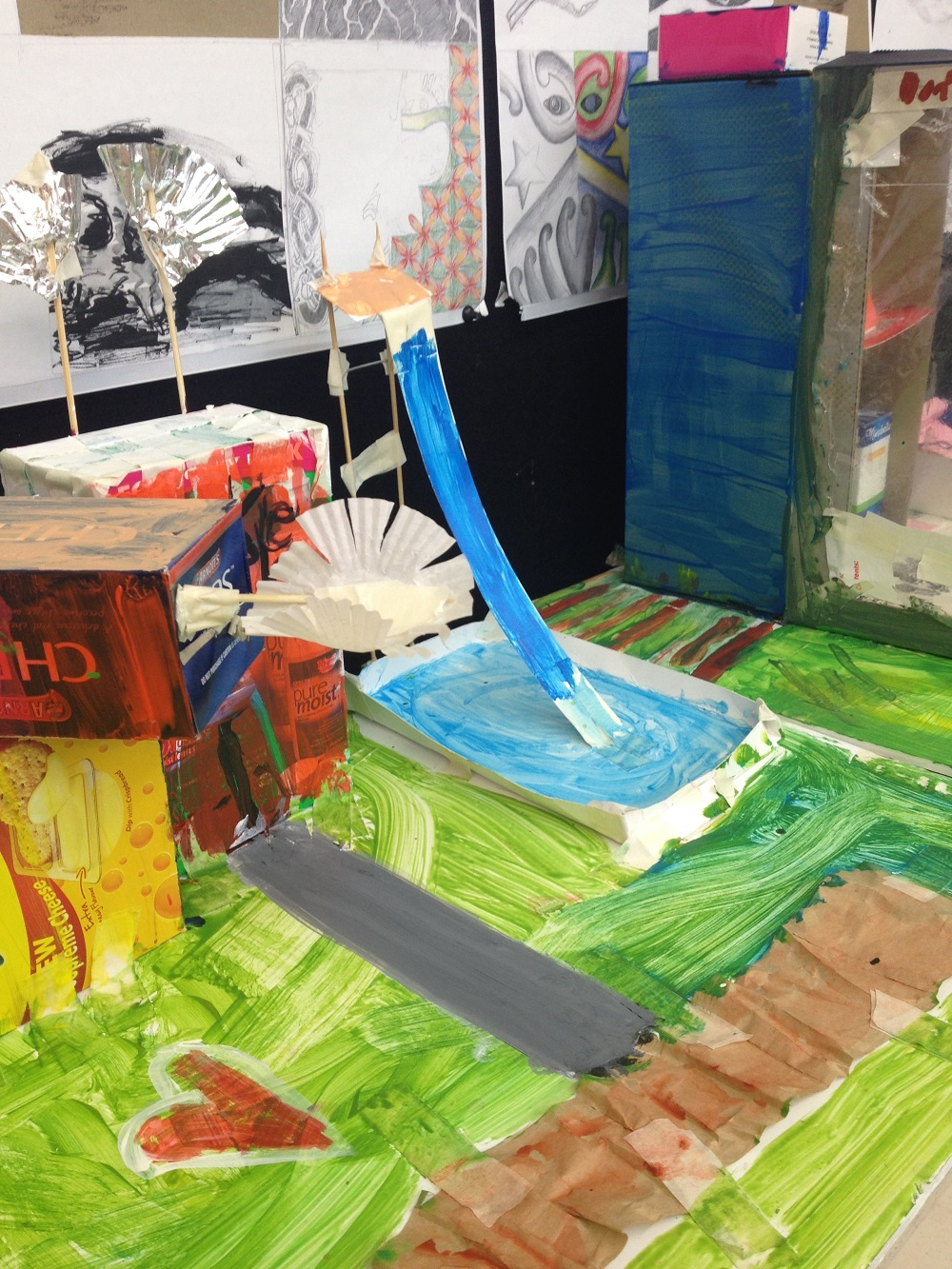 Art Making for Children Dreamscapes