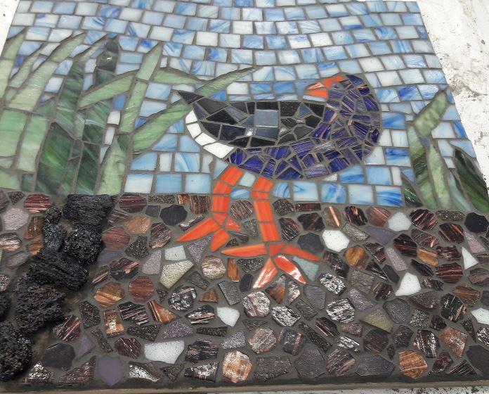 Jo Luker Pukeko Mosaic