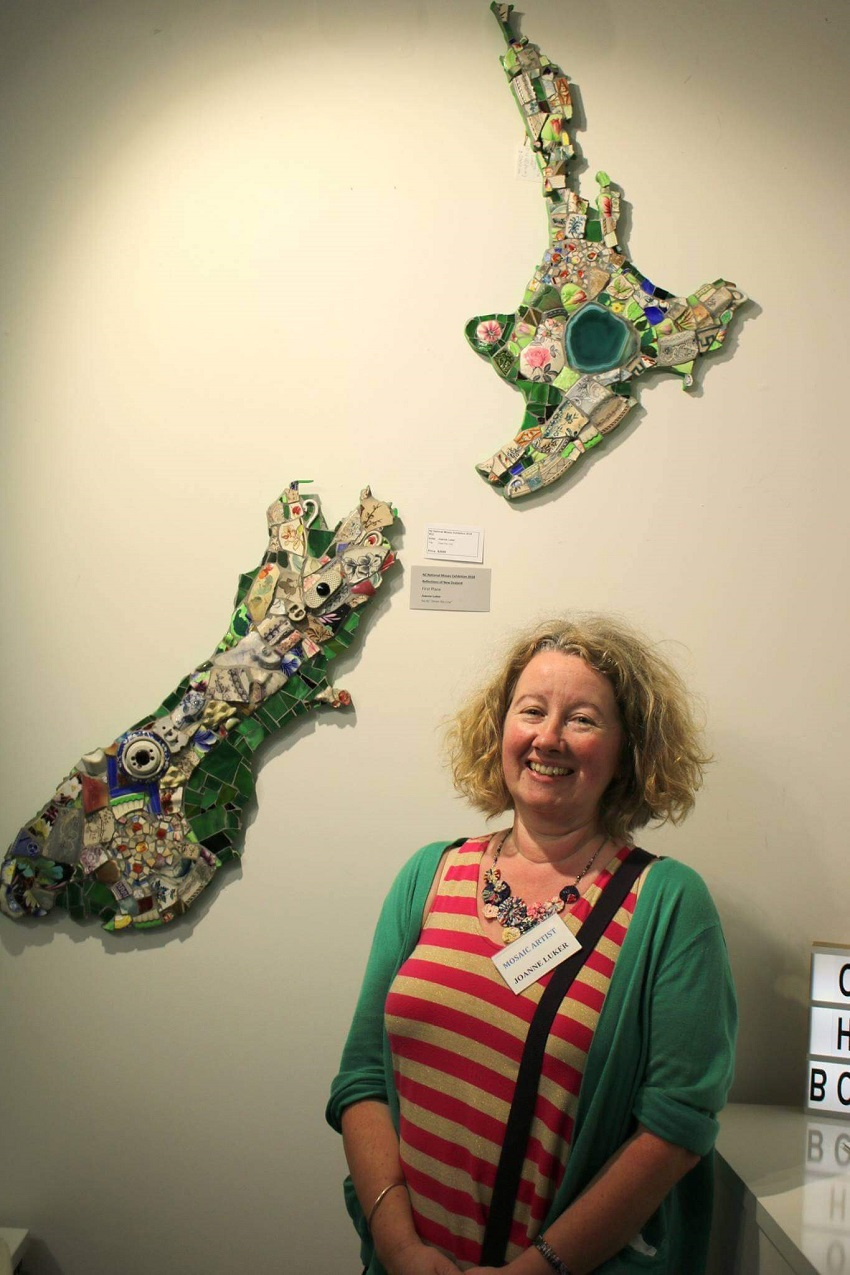 Jo Luker Winning Piece 2018 National Mosaic Exhibition
