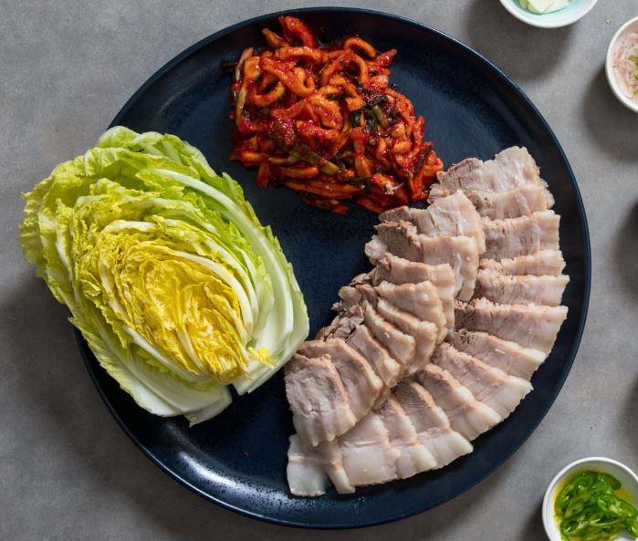 Korean Bossam Plate