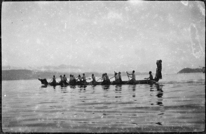 Maori Art History Waka