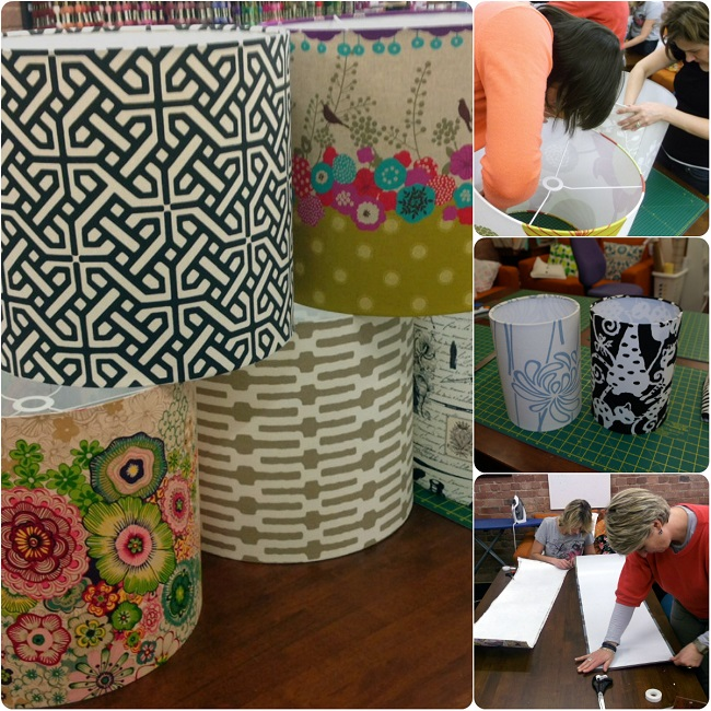 Lampshade Making at Selwyn Community Education