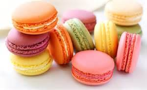 Assortment of macaron