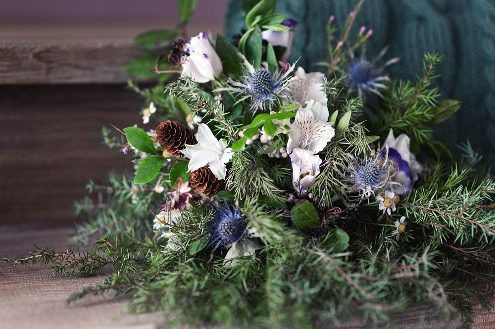 Mid Winter Floral Arrangement