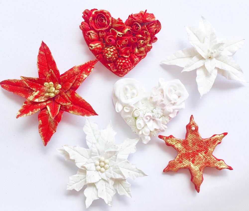 Olga Kovaleva Polymer Clay Christmas Decorations