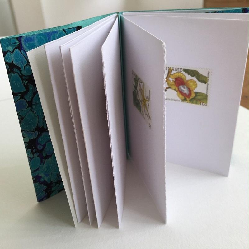 Sandra Morris Make Your Own Precious Books Inside View Example