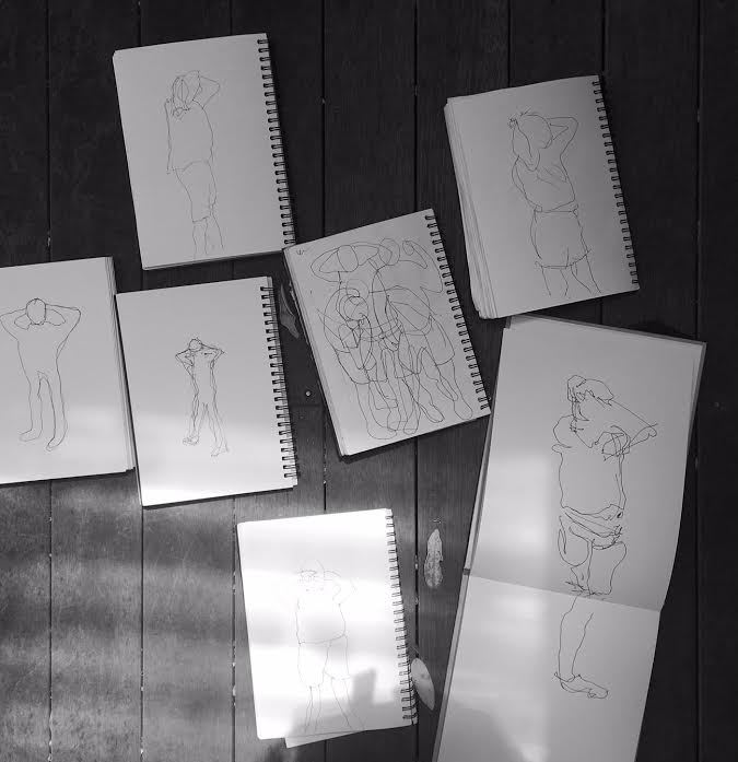 Colour Figure Sketches from Figure Sketching With Tony McNeight at Selwyn Community Education