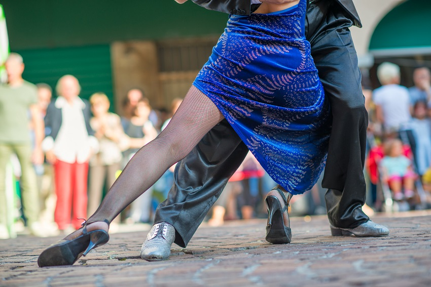 Introduction to Argentine Tango at Selwyn Community Education - dancers