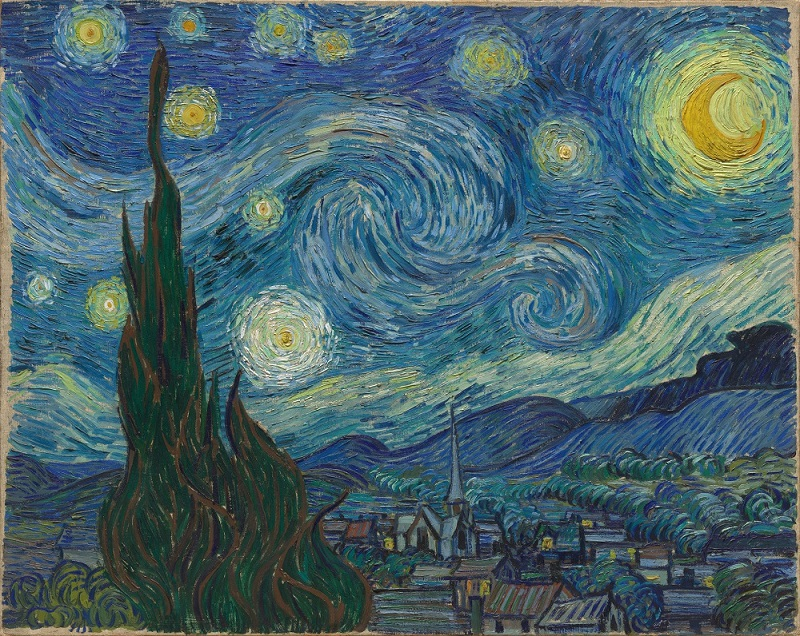 Vincent Van Gogh Starry Nights Oil Painting